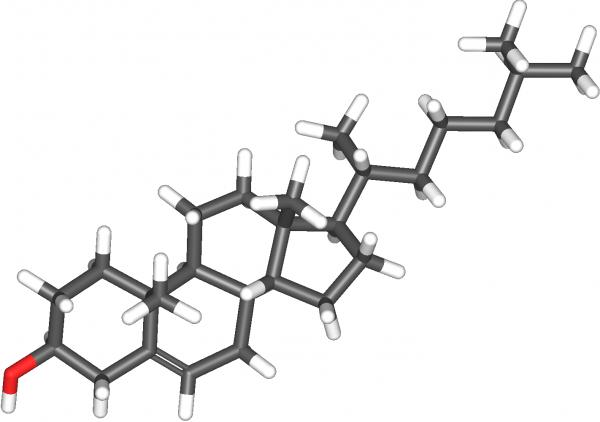 холестерол - молекулна структура