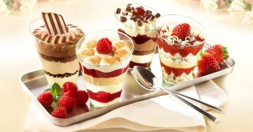 Диетични десерти за отслабване