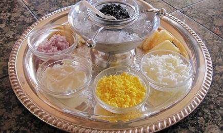 Хайверът е една от най-богатите на холестерол храни