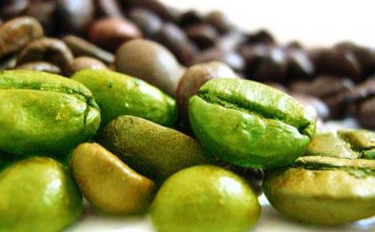За отслабзане използвайте зелено кафе