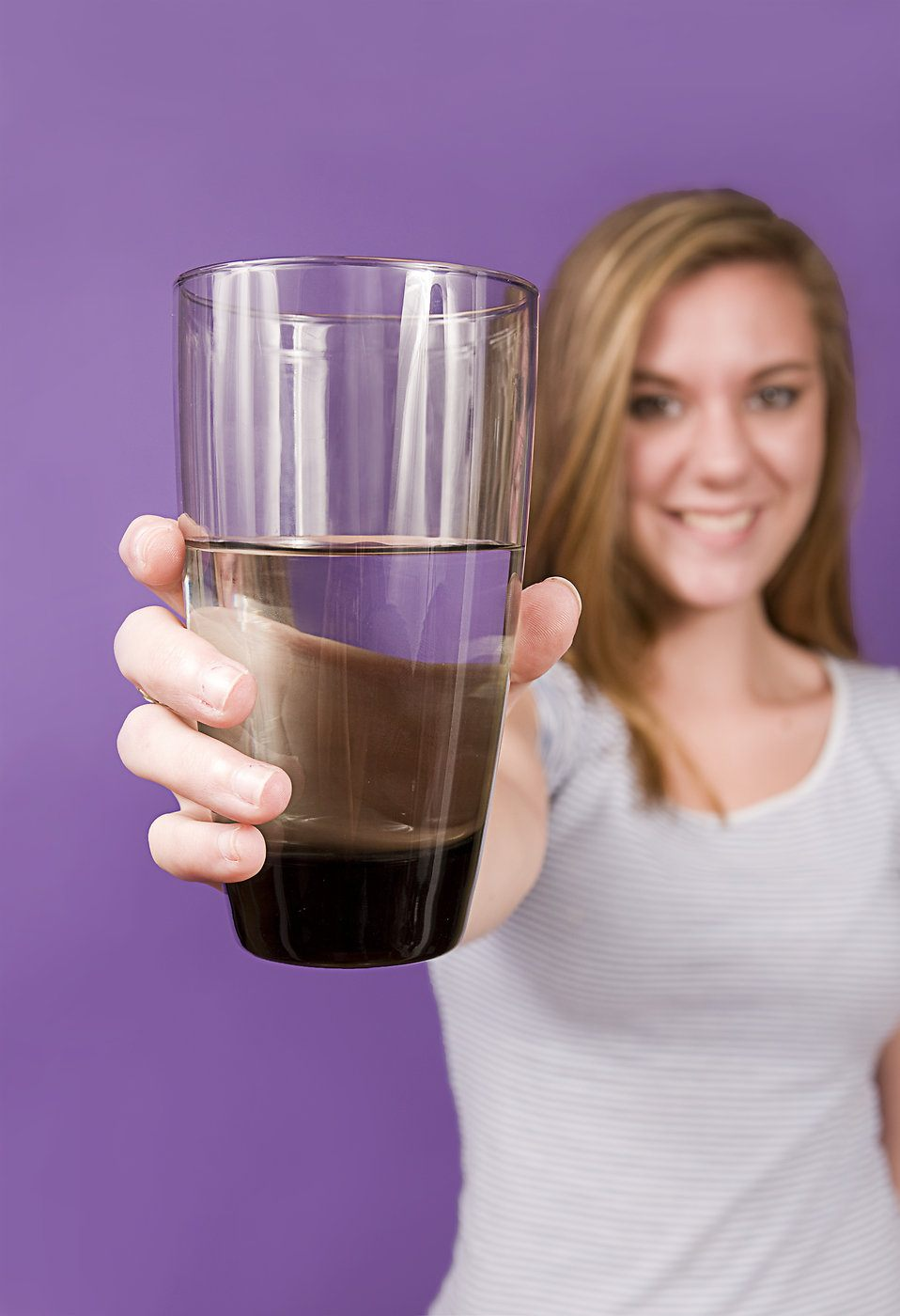 Пийте вода в големи количества.
