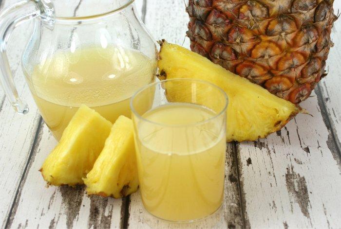 Пресен сок от ананас може да ускори изгарянето на калории.
