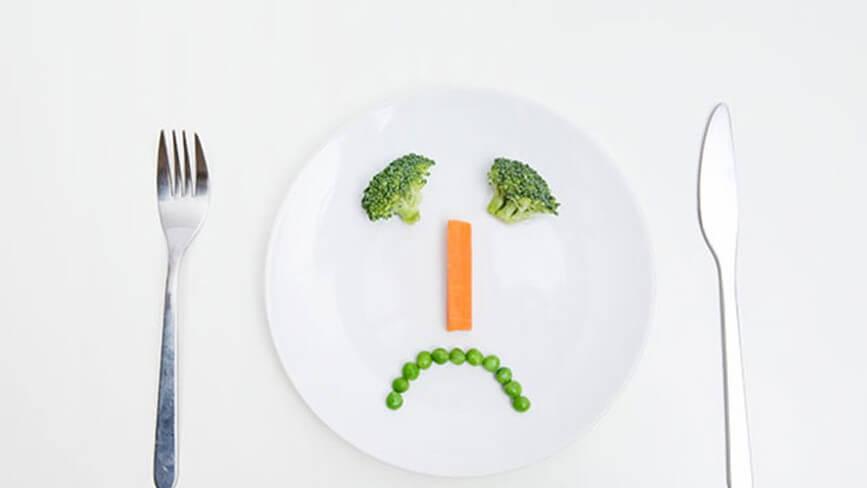 Не достатъчно храна и ядене